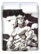 Conan The Barbarian Duvet Cover