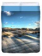 Coquina Beach, Cape Hatteras, North Carolina Duvet Cover