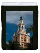 Coral Gables Biltmore Hotel Tower Duvet Cover