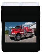 Cowee Fire Rescue - Tanker 1850, North Carolina Duvet Cover