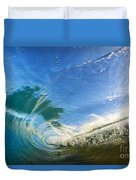 Crashing Wave Tube Duvet Cover