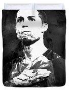 Cristiano Ronaldo Oki Duvet Cover