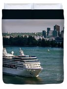 Cruise Ship 4 Duvet Cover