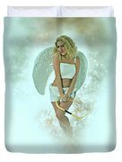 Cupid The God Of Desire Duvet Cover