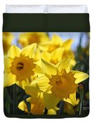 Daffodils In The Sunshine Duvet Cover