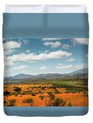 Daisies Blooming In Namaqualand 2 Duvet Cover