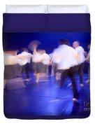 Dancers In Motion  Duvet Cover