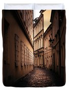 Dark Street Duvet Cover