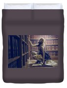 Dark Tales And The Rose Of Solitude Duvet Cover