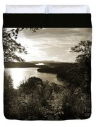 Dawn At Algonquin Park Canada Duvet Cover