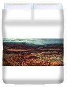 Dead Horse Canyon Duvet Cover