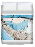 Derelict Swimming Pool Duvet Cover