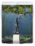 Devil's Den Monument At Gettysburg Duvet Cover