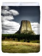 Devil's Tower - Wyoming Duvet Cover