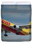 Dhl Airbus A300-f4 Duvet Cover