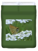 Dion Skipper Yarrow Blossoms Duvet Cover