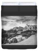 Dolomiti, Landscape Duvet Cover