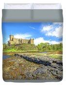 Dunvegan Castle Landscape Duvet Cover