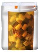 Elderly Drug Use Duvet Cover