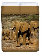 Elephant Parade Duvet Cover