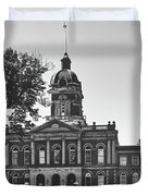Elkhart County Courthouse - Goshen, Indiana Duvet Cover