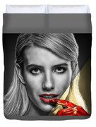 Emma Roberts Collection Duvet Cover