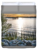End Of The Day Duvet Cover