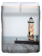 End Of The Pier Duvet Cover