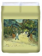 Entrance To The Public Gardens In Arle Duvet Cover