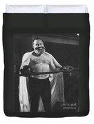 Ernest Hemingway Duvet Cover