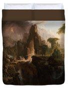 Expulsion From The Garden Of Eden  Duvet Cover