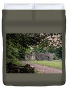 Fairafar Mill, Cramond, Edinburgh Duvet Cover