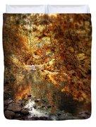 Fall Reflected Duvet Cover