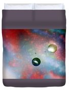 Farther Worlds Duvet Cover