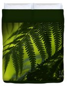 Fern Abstract Duvet Cover