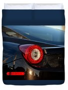 Ferrari Tail Light Duvet Cover