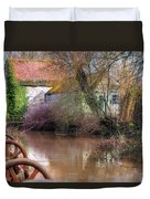 Fiddleford Mill - England Duvet Cover