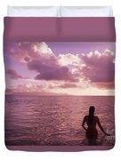 Fiji, Wakaya Island Duvet Cover