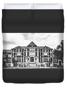 Fine Arts Building - Ball State University Duvet Cover