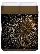 Firework Colors Duvet Cover