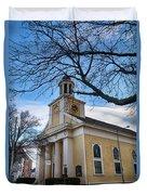 First Parish Church Beverly Ma Duvet Cover