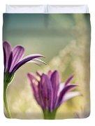 Flower On Summer Meadow Duvet Cover