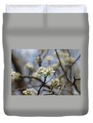Flowering Trees Duvet Cover