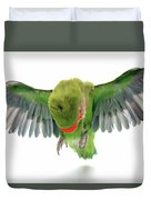 Flying Parrot  Duvet Cover