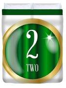 2 For Two Duvet Cover