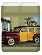 Ford California Woody Station Wagon Duvet Cover