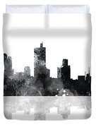 Fort Worth Texas  Skyline Duvet Cover