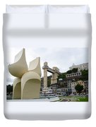 Fountain Of The Market Ramp By Mario Cravo Duvet Cover