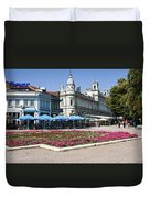 Freedom Square, Ruse, Bulgaria Duvet Cover