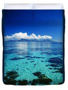 French Polynesia, Moorea Duvet Cover
